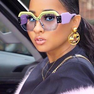 Accessories - Big Square Retro Sunglasses 😻